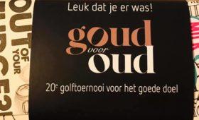 20e editie Golftoernooi Stichting RRR